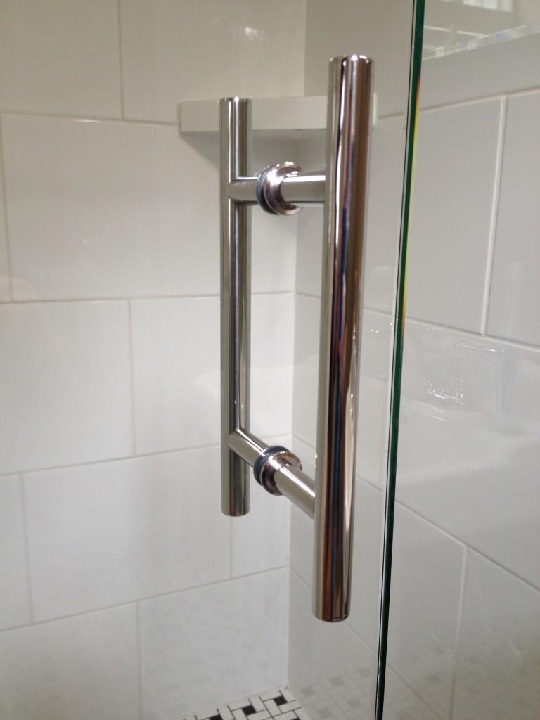 Shower door handles virginia shower door llc richmond for Bathroom door parts