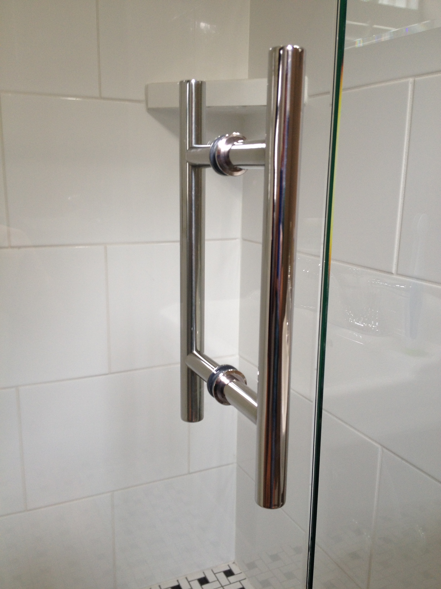 Ladder Handle Chrome Virginia Shower Door Llc Richmond