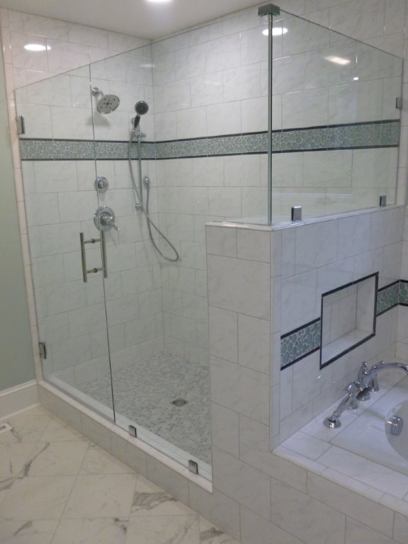 leo lantz Frameless Shower Door Richmond Va
