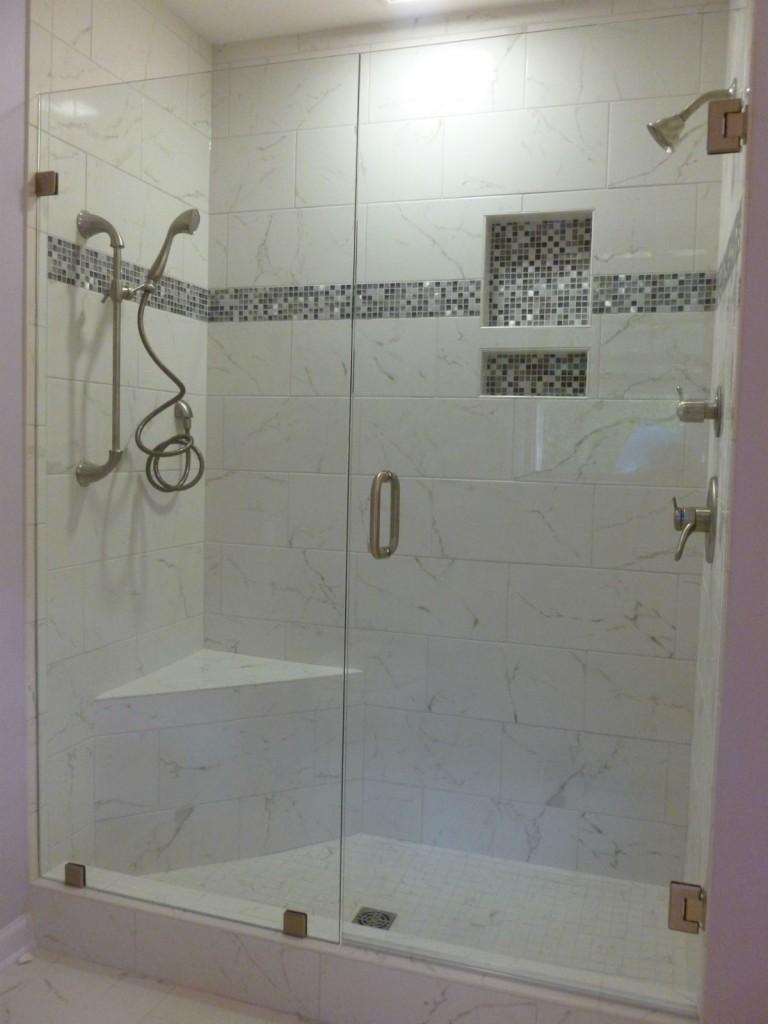 Frameless Shower Door Panel Richmond Va Virginia Shower Door