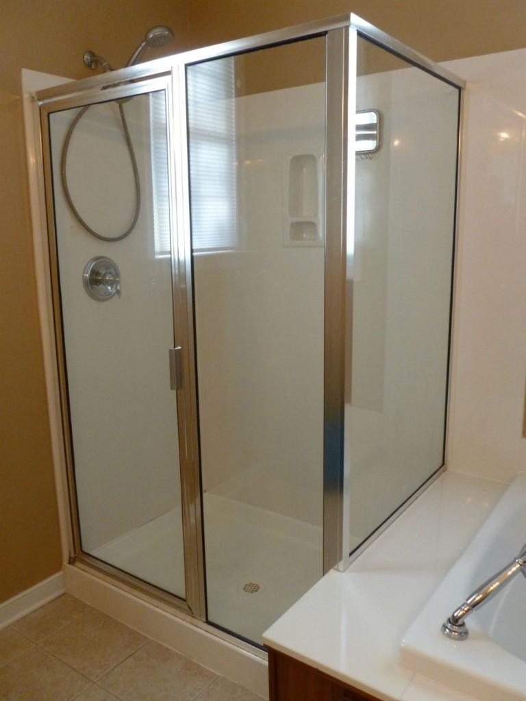 Shower Door Replacement Richmond / Before & After - Virginia ...