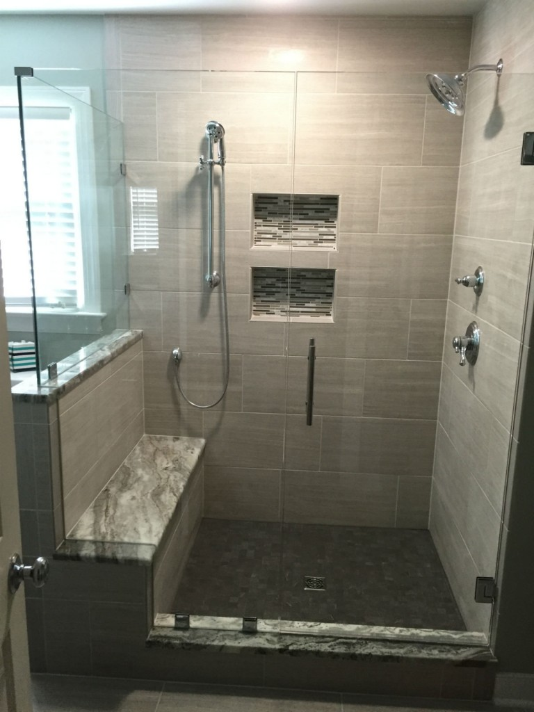 Woodlake Frameless Glass Shower Door Richmond Va